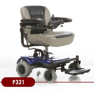 Merit Portable 321 Power Chair