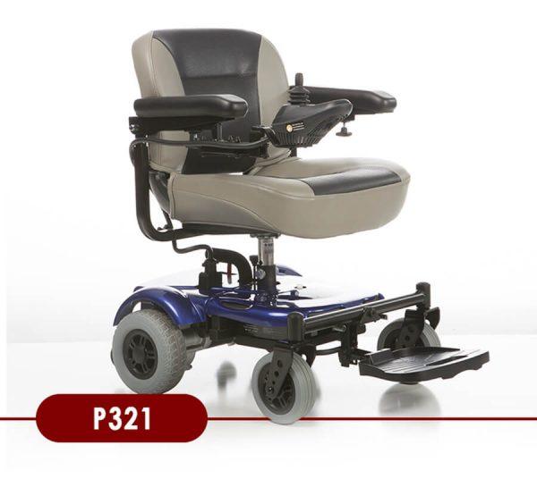 Merit Portable 321 Power Chair